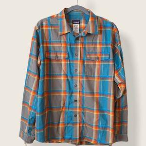 Patagonia Buckshot Organic Cotton Flannel Shirt